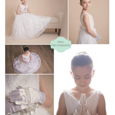 First Communion Mini Portrait Sessions