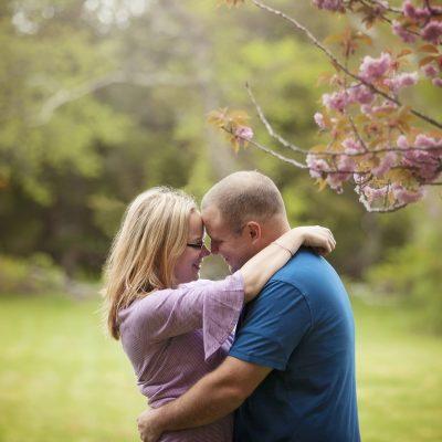 Jennifer + Jon – Colt State Park Spring Engagement Session