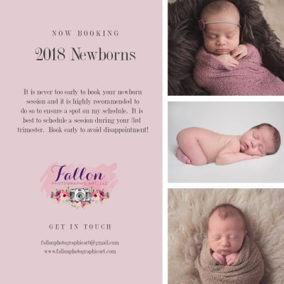 Now Booking 2018 Newborns