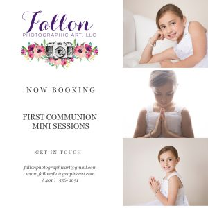 First Holy Communion Mini Sessions
