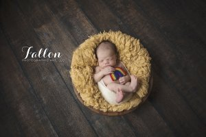 Baby Wyatt Newborn rainbow baby