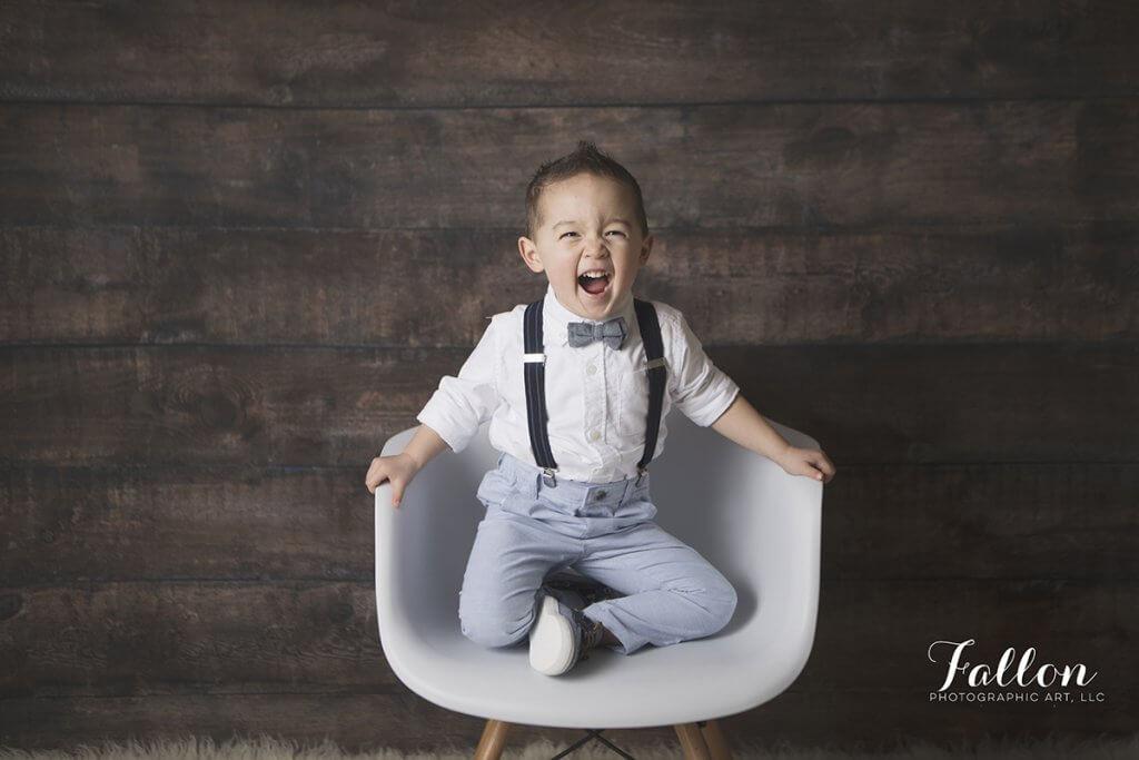 toddler smiles